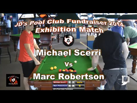 JD's Pool Club Exhibition Match