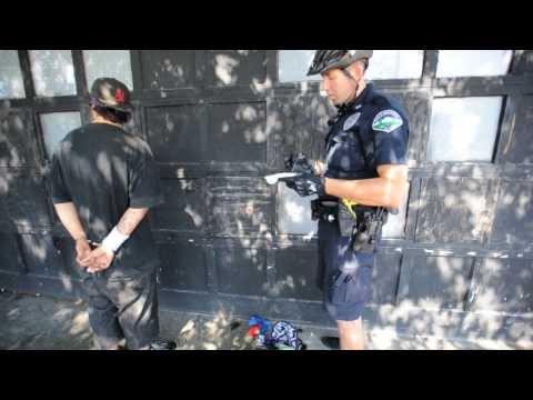 Bellingham Police Sweep Downtown