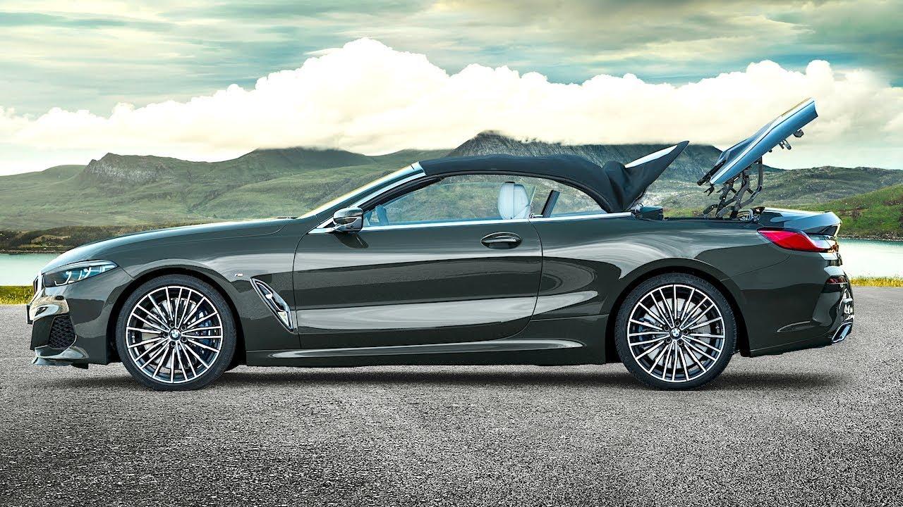 Bmw M850i Xdrive Convertible World Premiere New G14 Bmw 8 Series Cabrio 2019 Bmw Promo