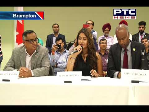 Canada's Immigration Minister Ahmed Hussain Tackles Range of Issues at Brampton Town Hall