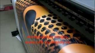 Интерьерная печать - наружная реклама(Печать на широкоформатном принтер Mimaki JV33 печать на пленках матовых, глянцевых, транслюцентных и прозрачных..., 2012-01-29T10:01:09.000Z)
