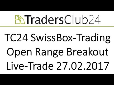 TC24 SwissBox-Trading OpenRange-Breakout Live-Trade am 27.02.2017