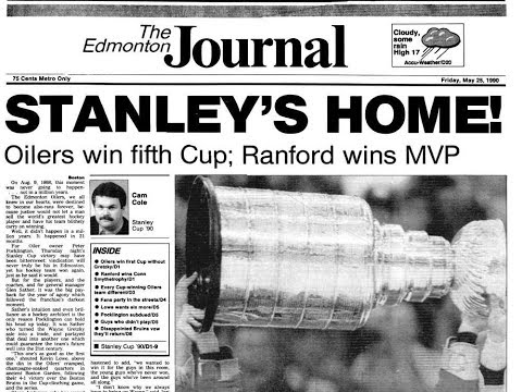 Edmonton Oilers Road to the 1990 Stanley Cup - Beer League Heroes