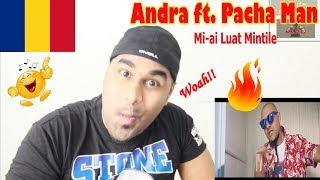 ANDRA - Mi-ai Luat Mintile (feat. Pacha Man) ROMANIAN MV REACTION Aalu Fries