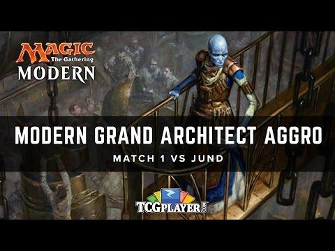 [MTG] Modern Grand Architect Aggro | Match 1 VS Jund
