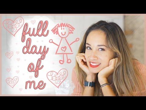 Full Day Of Me - Mein Kalorienverbrauch, mein Essen, Fitnesstracker Samsung Gear Fit 2 , VLOG-Style