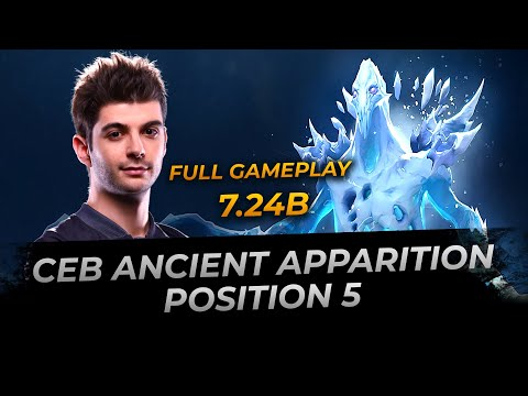 Ceb plays Ancient Apparition - Dota 2 Replay Full Gameplay