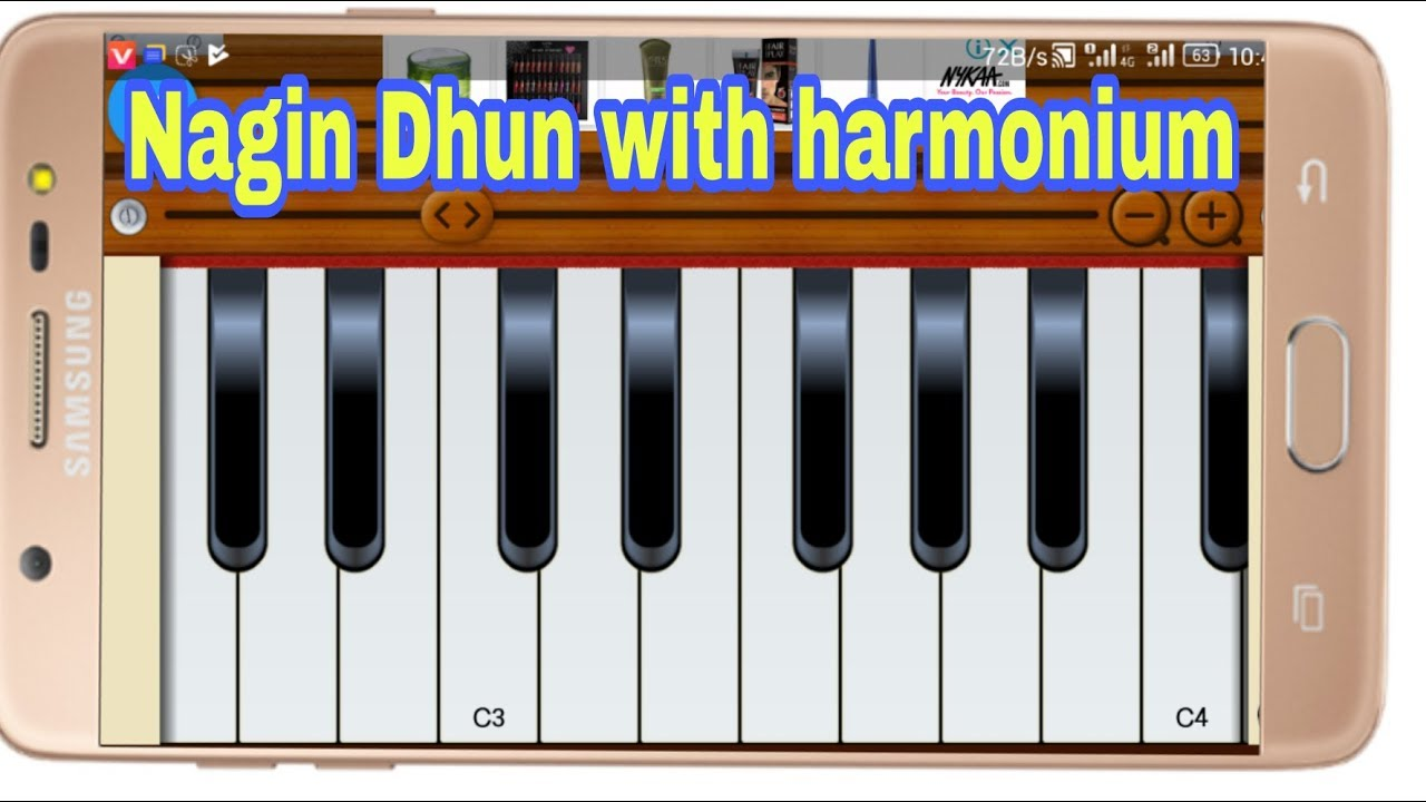 How To Play Nagin Dhun With Harmonium App |,Android Mobile
