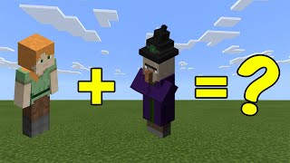 I Combined Alex and a Witch in Minecraft - Here's WHAT Happened...