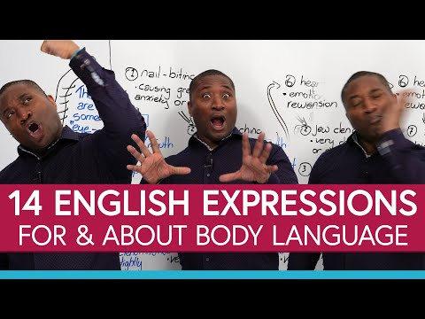 Learn 14 Englishexpressions for body language