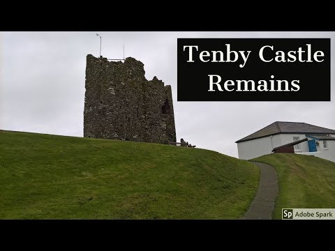 Travel Guide Tenby Castle Remains Pembrokeshire South Wales UK Pros And Cons Review
