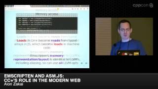 "CppCon 2014: Alon Zakai ""Emscripten and asm.js: C++"