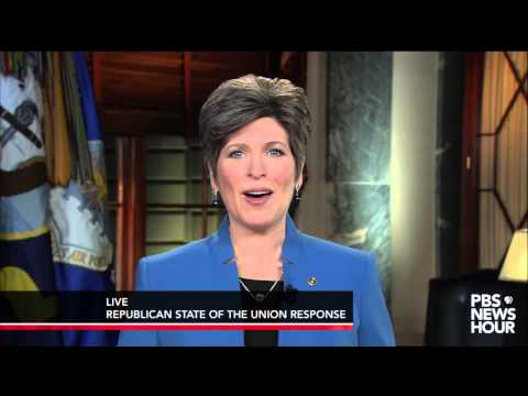 Watch Joni Ernst deliver the Republican response to the 2015 State of the Union address