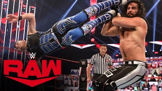 Dominik Mysterio vs. Seth Rollins: Raw, Aug. 31, 2020