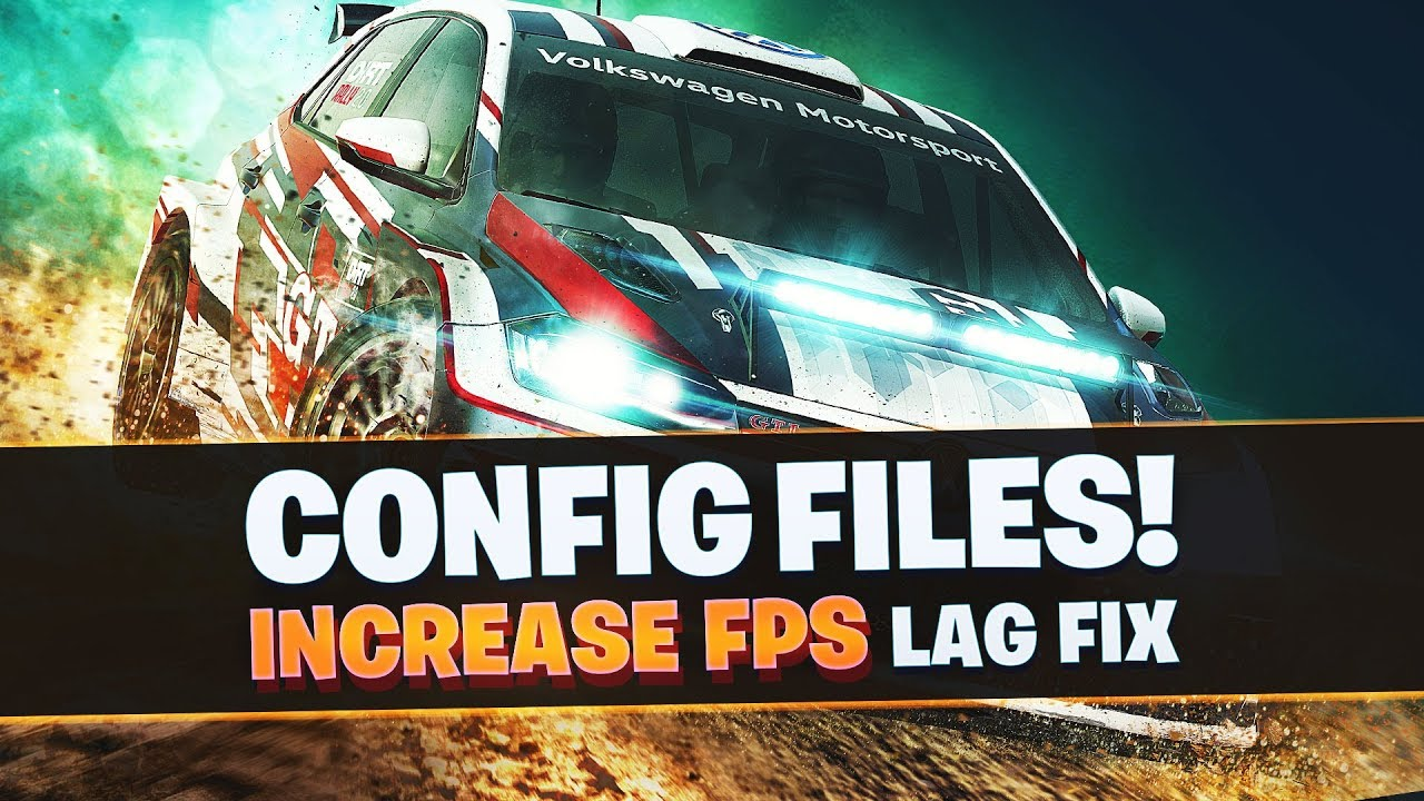 DiRT Rally 2.0 Low End PC's Config file