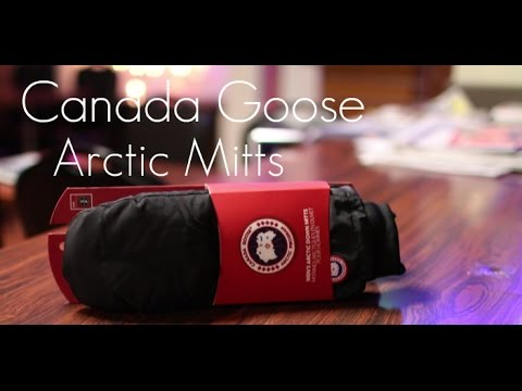 SUPER WARM MITTS! - Canada Goose Arctic Down Mitts - Review