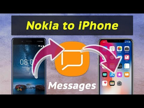 import sms messages from nokia to iphone
