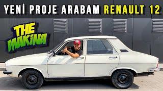 Yeni Proje Arabam!   Renault 12   Tank Gibi Otomobil Aldım!