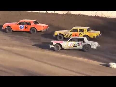 Bakersfield Speedway HEAT RACES 4 18 15