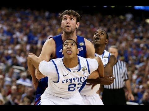 Anthony Davis Dominates 2012 Ncaa Championship With Kentucky