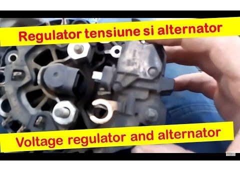 Regulator tensiune alternator Corsa C -- Voltage regulator Corsa C alternator