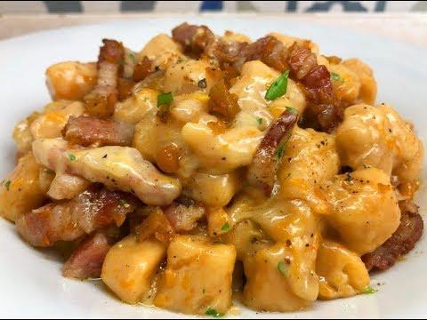 Ricetta Gnocchi Zucca E Pancetta.Gnocchi Di Zucca Con Taleggio E Pancetta Dolce Healthy Domani Youtube
