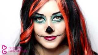 Skelita Calaveras Makeup Tutorial Monster High Doll