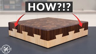 Building an Impossible Dovetail Cutting Board