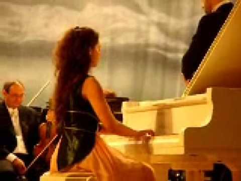 Axia Marinescu plays piano concerto no 23 -W A  Mozart