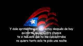 Letra Lyrics @ Daddy Yankee ft Nova & Jory - Aprovecha (ORIGINAL)