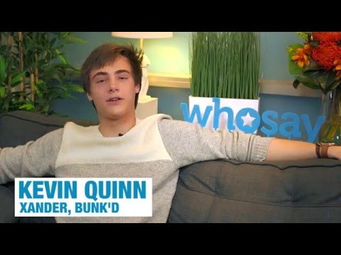 Kevin Quinn talks 'Bunk'd,' Valentine's Day Plans, and More | WHOSAY