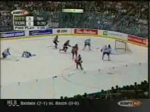 Maple Leafs vs Senators - 2002 Playoffs Game #1