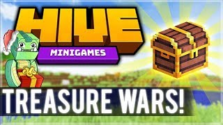DESTROYING EVERYONE! 1.8 MCPE HIVE SERVER! - Treasure Wars Duos (iOS, Xbox, Switch, PC)