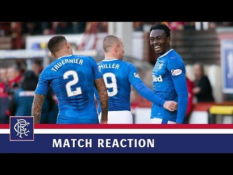Download REACTION | Joe Dodoo | Partick Thistle 1-2 Rangers
