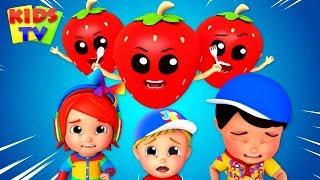 Will They Eat us too | Kids Tv Nursery Rhymes | Kids Songs | Fruits Song