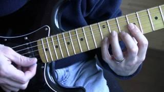Part 6:  Pride (U2 Guitar Tutorial / Lesson) - Right Hand Strumming Pattern