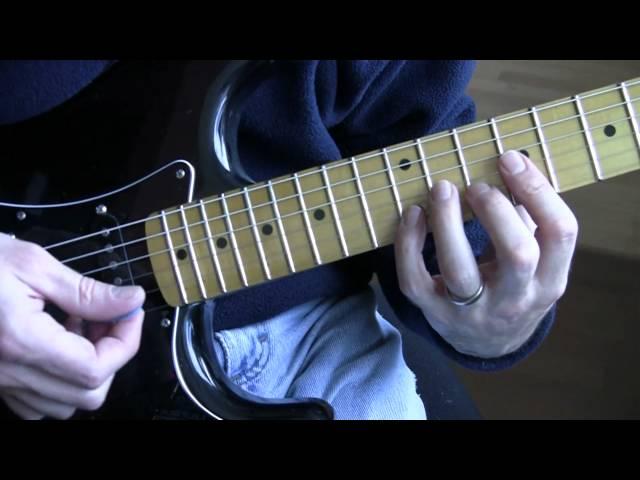 Part 6: Pride (U2 Guitar Tutorial / Lesson) – Right Hand Strumming ...
