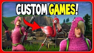 😱 FLAMINGO Skin in the shop + CUSTOM GAMES tournament 🏆 Live: Fortnite [English]
