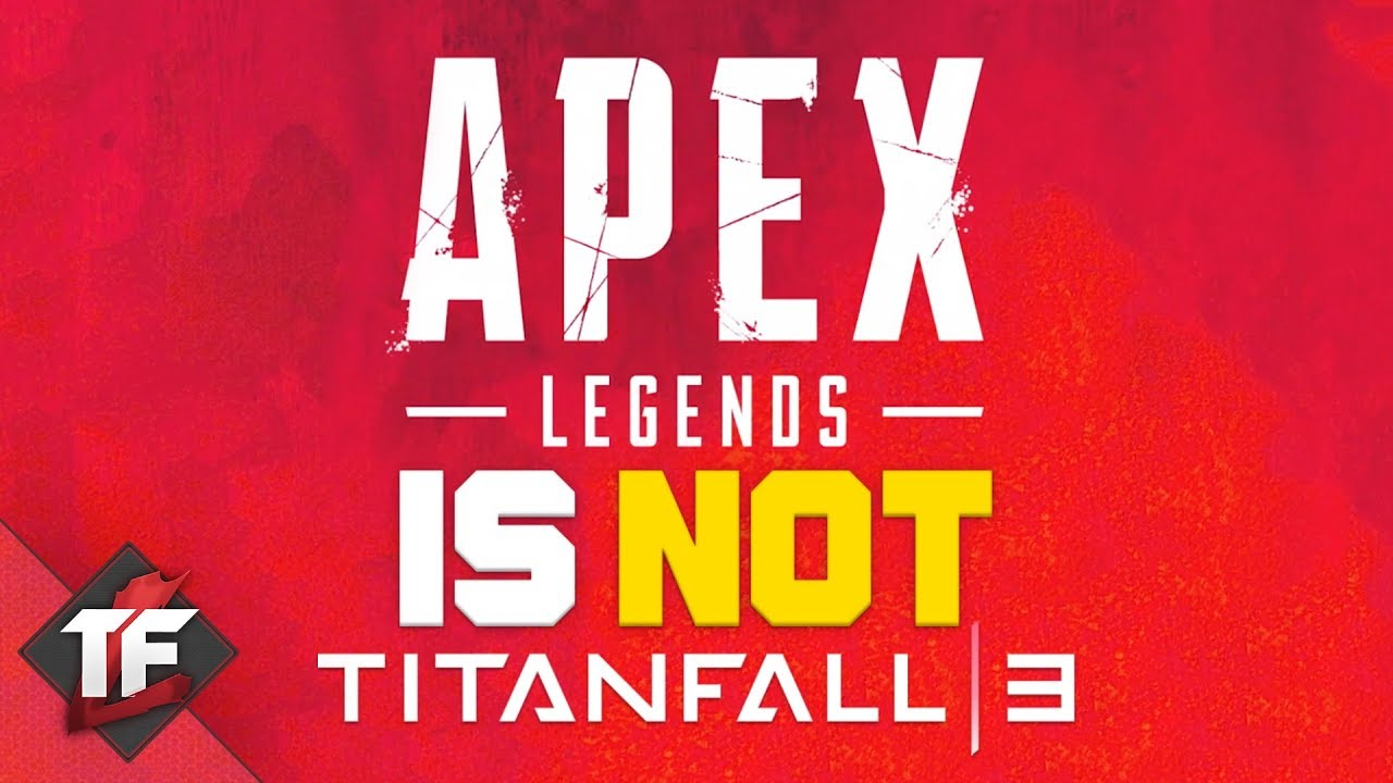 Apex Legends is NOT Titanfall 3!