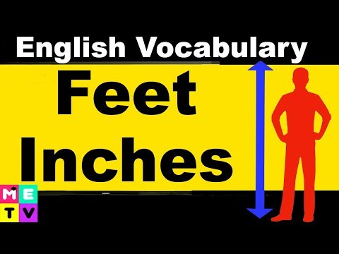 How to Measure in English | Feet and Inches 📏 | Imperial vs. Metric System