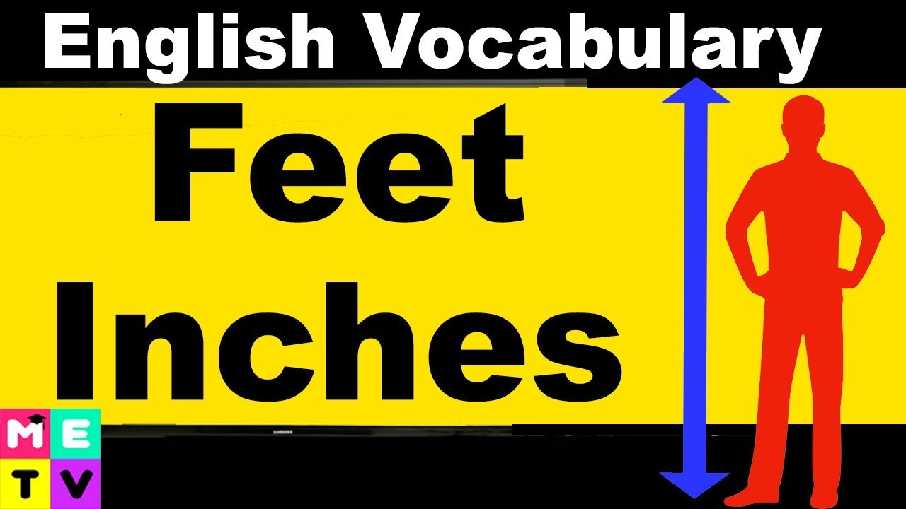 How To Measure In English Feet And Inches  F0 9f 93 8f Imperial Vs Metric System