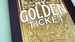 My Golden Ticket | Personalised children's book | Wonderbly