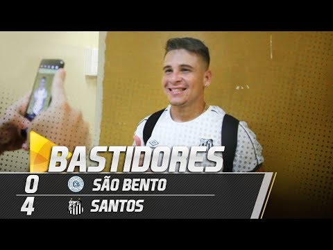São Bento 0 x 4 Santos | BASTIDORES | Paulistão (24/01/19)