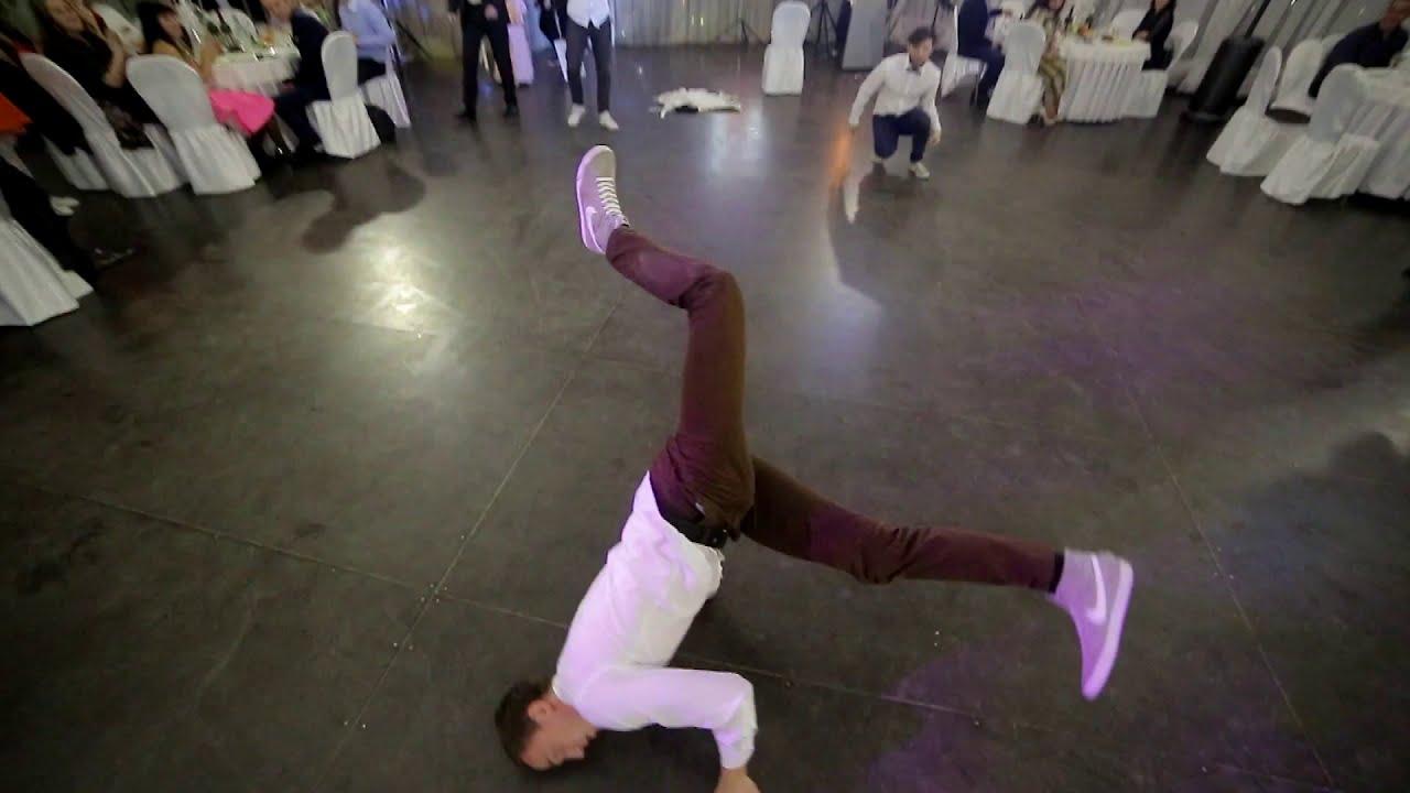 Брейк данс на свадьбе