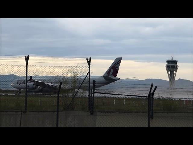 L'aeroport del Prat després de la tempesta - Setembre 2017