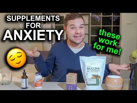 Anxiety Relief: These Natural Supplements ACTUALLY Help Me