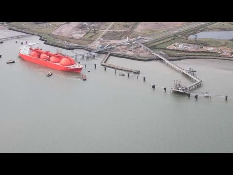 The grain LNG Terminal surveyed