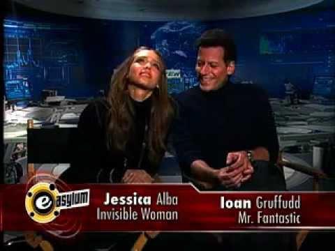 Ioan Gruffudd and Jessica Alba EAsylum