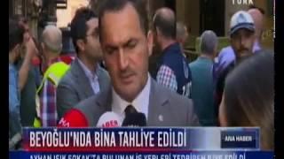 Beyoğlu Belediyesi Beyoğlu 39 nda Bina Tahliye Edildi HaberTürk