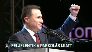 Szabálytalan parkolás miatt jelentették fel Gruevszkit 19-06-12